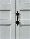 107S: Door Handle, Rockingham Meetinghouse