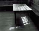 110W: Table in Sunshine, Canaan Meetinghouse