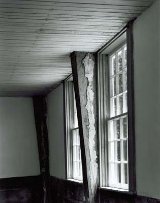 111N: Windows and Ceiling, Chestnut Hill Meetinghouse