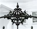 111S: Gate Detail, Chestnut Hill Meetinghouse