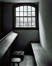 112A: Window, Pew, and Kneelers, Trinity Church, Borrklyn