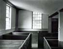 114F: Box Pews and Windows, Waldoboro Meetinghouse