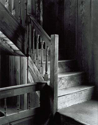 114R: Stairs, Danville Meetinghouse