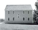 115W: Back Wall, Alna Meetinghouse