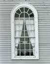 115Z: Pulpit Window, Alna Meetinghouse