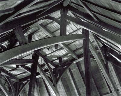 118T: Roof Beams, Old Ship Church, Hingham
