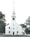 Meetinghouse, Cohasset MA, at Dawn