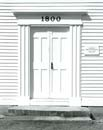 Door, Fremont Meetinghouse, Fremont, NH