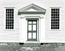 Door and Windows, Rocky Hill Meetinghouse, Amesbury, MA
