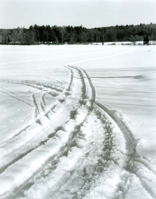 Snow Mobile Trails, East Kingston, NH