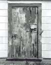 Door with Pealing Wood, Highland Center, Truro AFB